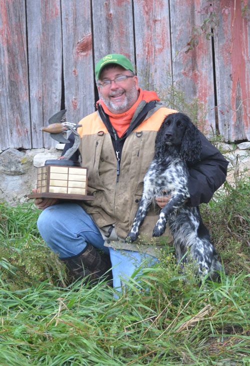 Owner Jeff Schwartz from Rock River Kennels in Beaver Dam, WI